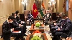 Bộ trưởng Ngoại giao Bùi Thanh Sơn gặp gỡ bên lề khóa họp Đại hội đồng Liên hợp quốc