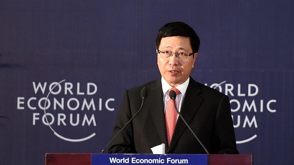 Phó Thủ tướng Thường trực Phạm Bình Minh dự Hội nghị Thượng đỉnh về phát triển bền vững năm 2021