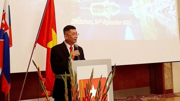 Long trọng kỷ niệm 76 năm Quốc khánh Việt Nam tại Slovakia