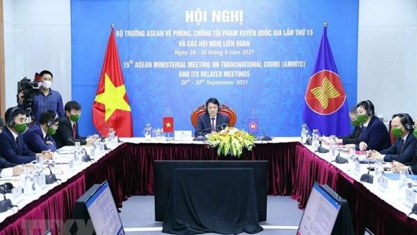 ASEAN cam kết tăng cường hợp tác đấu tranh phòng, chống tội phạm xuyên quốc gia