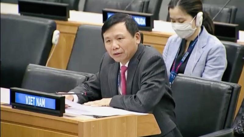 Việt Nam kêu gọi các nước tôn trọng nguyên tắc giải quyết hòa bình các tranh chấp quốc tế
