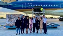 Vietnam Airlines vận chuyển vaccine và vật tư y tế từ Hungary, Croatia và Slovakia về Việt Nam