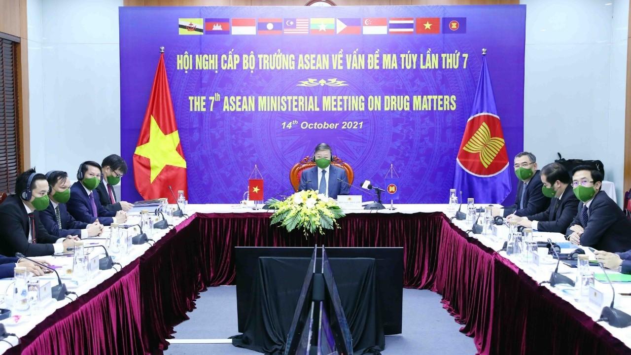Việt Nam chia sẻ lập trường chung của ASEAN về thái độ không khoan nhượng với ma túy
