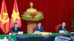 Việt Nam-Lào tăng cường trao đổi thông tin, chia sẻ kinh nghiệm về công tác xây dựng Đảng
