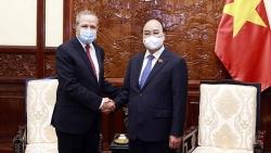 Chủ tịch nước Nguyễn Xuân Phúc tiếp Đại sứ Algeria tại Việt Nam