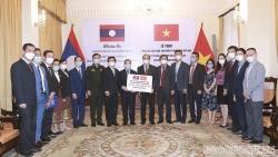 Việt Nam hỗ trợ khẩn cấp Lào ứng phó đợt dịch Covid-19 mới