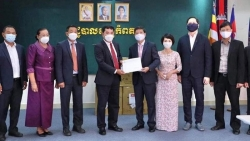 Tiếp tục củng cố quan hệ với tỉnh Kampot và Kep, Campuchia