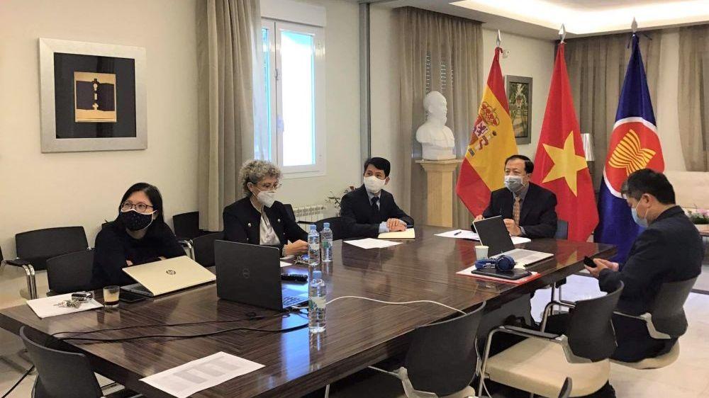 Hội nghị giao thương trực tuyến cơ hội kinh doanh và đầu tư Việt Nam-Tây Ban Nha từ EVFTA