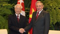 Bí thư Thứ nhất Đảng Cộng sản Cuba Raúl Castro gửi điện chúc mừng Tổng Bí thư, Chủ tịch nước Nguyễn Phú Trọng