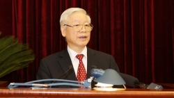 Tổng Bí thư, Chủ tịch nước Nguyễn Phú Trọng chúc mừng Hội đồng toàn quốc Đảng Cộng sản Pháp
