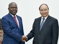 Thủ tướng tiếp Bộ trưởng Nội vụ Mozambique và Đại sứ New Zealand