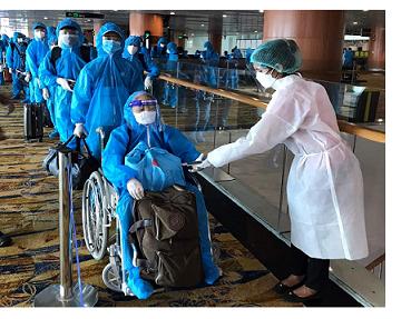 Chuyến bay chở 182 công dân Việt Nam từ Myanmar về nước an toàn