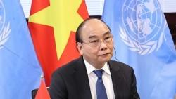 Chủ tịch nước Nguyễn Xuân Phúc: Việt Nam sẵn sàng hợp tác sản xuất, chuyển giao công nghệ vaccine Covid-19
