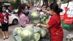 Chung sức giúp người dân vùng dịch tiêu thụ nông sản