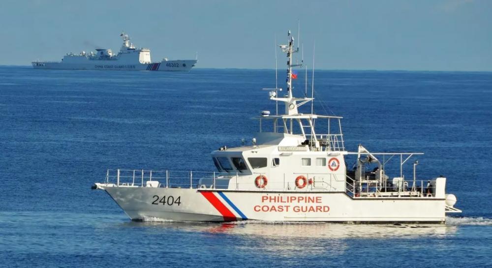 Lực lượng bảo vệ bờ biển Philippines diễn tập ở Biển Đông