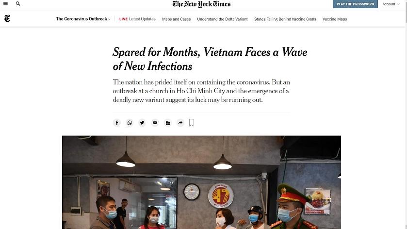 Nói Việt Nam 'may mắn' trong chống dịch Covid-19 là thiếu khách quan