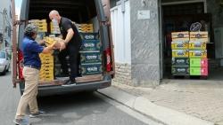 New Zealand hỗ trợ hơn 9 tấn hoa quả giúp TP. Hồ Chí Minh chống dịch Covid-19