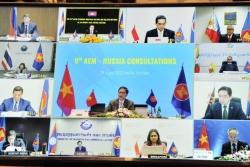 ASEAN-Nga tham vấn trực tuyến thúc đẩy hợp tác kinh tế