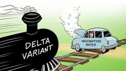 Bức tường 'miễn dịch cộng đồng' sắp sụp đổ trước biến thể Delta?