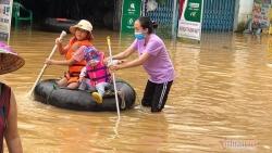Cảnh báo mưa to, lũ ở Quảng Bình - Quảng Nam tiếp tục lên
