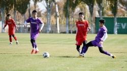 U23 Việt Nam đấu tập nội bộ, HLV Park Hang Seo làm lộ đội hình