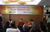 Thương mại Việt Nam - Hàn Quốc hướng tới mục tiêu 100 tỷ USD