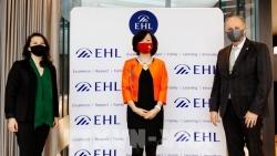 Cityland Education Việt Nam và EHL Thụy Sỹ hợp tác đào tạo nghề khách sạn-nhà hàng
