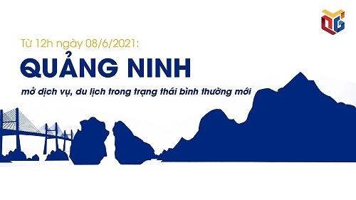 Quảng Ninh mở dịch vụ, du lịch trong trạng thái bình thường mới