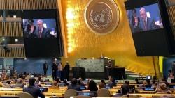 Đại hội đồng LHQ thông qua Nghị quyết bổ nhiệm Tổng Thư ký Liên hợp quốc nhiệm kỳ 2022-2026