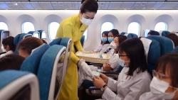 Vietnam Airlines thần tốc đưa lực lượng y tế tỉnh Hải Dương vào TP. Hồ Chí Minh chống dịch