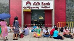 Tình hình Myanmar: Đồng Kyat suy yếu, kinh tế dự kiến sụt giảm 18%