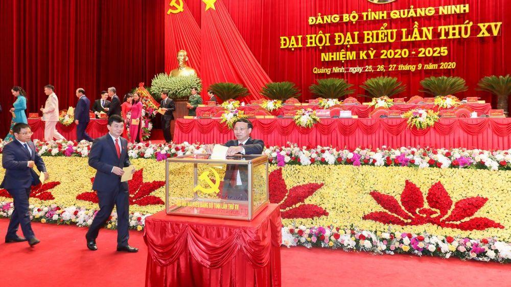 Quảng Ninh bầu Ban Chấp hành Đảng bộ tỉnh khoá XV, nhiệm kỳ 2020-2025