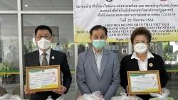 Trao quà, học bổng cho 60 sinh viên Thái Lan và Việt Nam tại Đại học Hoàng gia Udon Thani