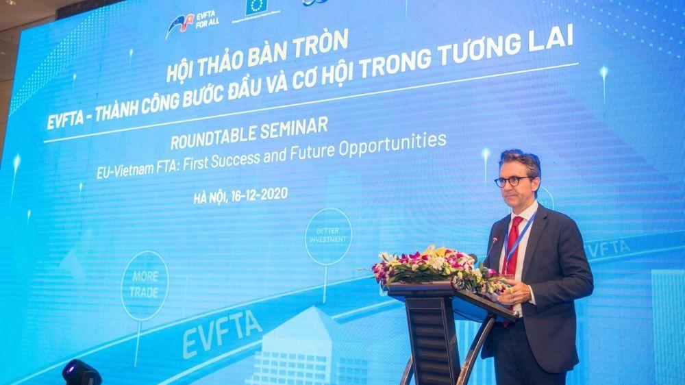 Việt Nam và EU cùng gặt hái 'trái ngọt' từ EVFTA