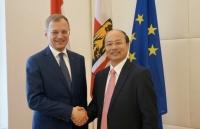 Thúc đẩy quan hệ kinh tế Việt Nam với bang Thượng Áo
