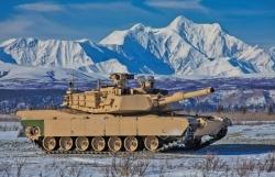 Lục quân Mỹ mang xe tăng Abrams mới nâng cấp thử nghiệm ở Bắc Cực