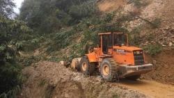 Lai Châu: Mưa lớn gây sạt lở nhiều tuyến đường