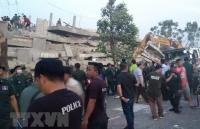 Chưa phát hiện nạn nhân gốc Việt trong vụ sập nhà ở Campuchia