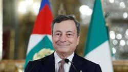 Chính phủ mới của Thủ tướng Italy Mario Draghi tuyên thệ nhậm chức