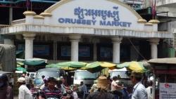 Tiểu thương mắc Covid-19, Campuchia đóng cửa chợ đầu mối ở Phnom Penh
