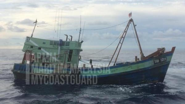 Đề nghị Malaysia đối xử nhân đạo với ngư dân tàu cá Việt Nam bị bắt giữ