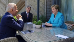 Thủ tướng Đức thăm Mỹ: Món quà cuối cùng của bà Merkel