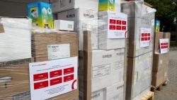 Thành phố Leipzig (Đức) tặng trang thiết bị y tế cho Việt Nam chống Covid-19