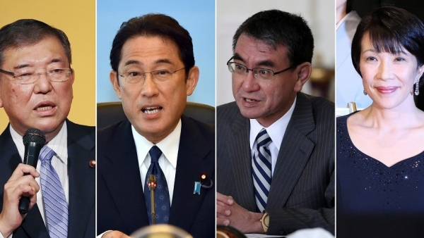 Hai gương mặt vàng cho vị trí Thủ tướng Nhật Bản