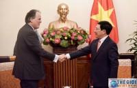 Việt Nam - Anh cần đẩy mạnh khuyến khích doanh nghiệp đầu tư, kinh doanh