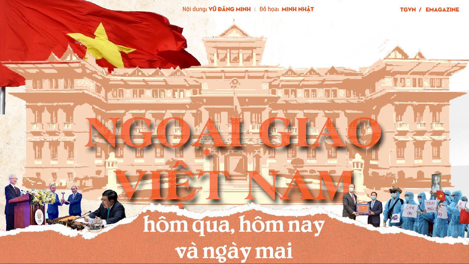Ngoại giao Việt Nam, hôm qua, hôm nay và ngày mai