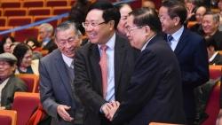 Phó Thủ tướng Phạm Bình Minh mừng thọ, chúc Tết các cán bộ hưu trí Bộ Ngoại giao