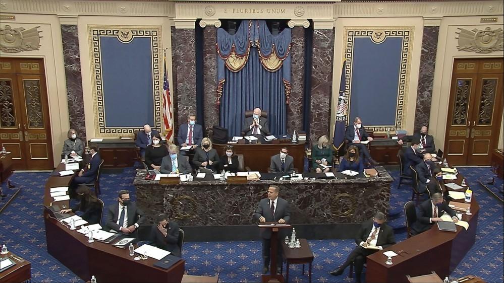 Bác bỏ lập luận của luật sư bào chữa, Thượng viện Mỹ tiếp tục bỏ phiếu luận tội cựu Tổng thống Donald Trump