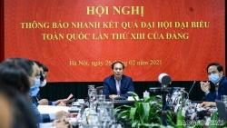 Bộ Ngoại giao thông báo nhanh về kết quả Đại hội XIII của Đảng