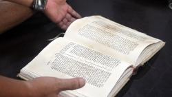 Mục sở thị cuốn sách in chữ quốc ngữ đầu tiên của Việt Nam